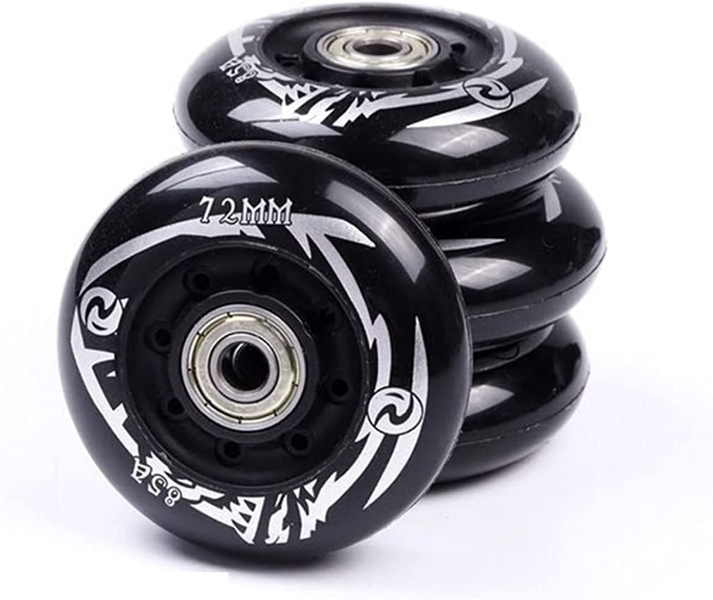 2021 model Inline Skates Wheels 8PCs Hardness Replacement Challenge the lowest price 85A Roller Skatin
