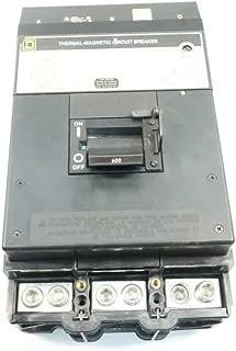 SQUARE D LC36600 I-LINE 600A AMP 3P 600V-AC Molded CASE Circuit Breaker D619199