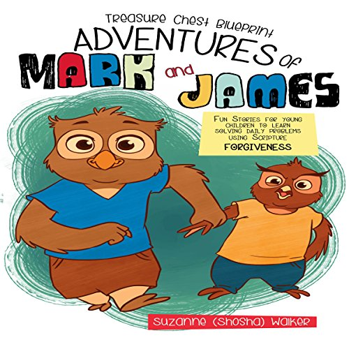 Treasure Chest Blueprint Adventures of Mark and James audiobook cover art