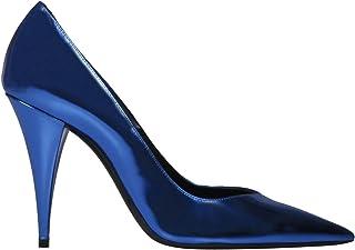 SAINT LAURENT Luxury Fashion Womens 578599AAL004550 Blue Pumps   Fall Winter 19