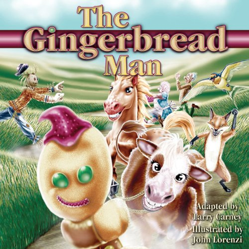 The Gingerbread Man [PC Treasures] audiobook cover art