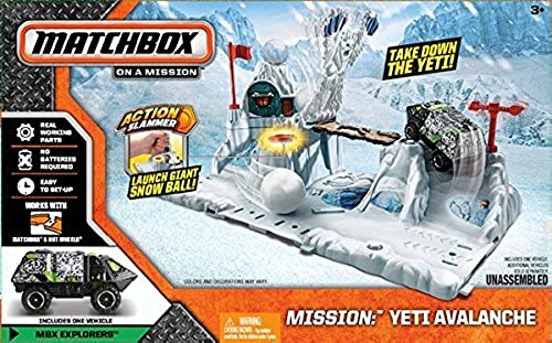 Match Box ON A MISSION Take Down The Yeti Avalanche by Matchbox