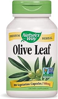 Nature's Way Olive Leaf, 100 Capsule, 500 mg
