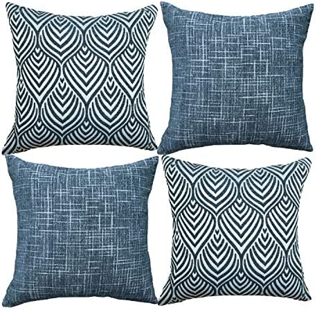 Best Oirpro Decorative Pillow Covers Chenille Plush Velvet Pillow Covers Geometric Textured Waves Striped