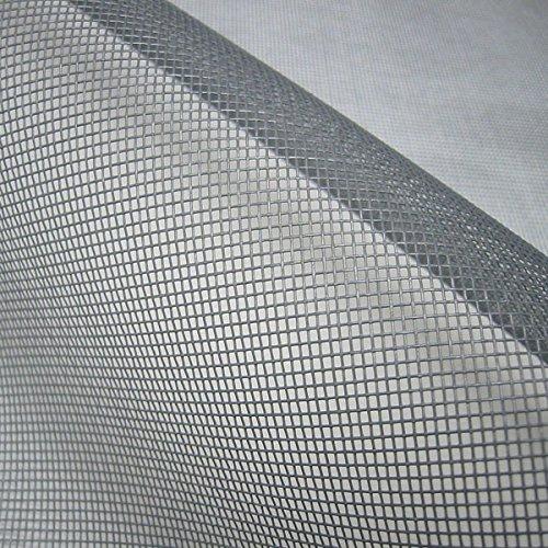 Stoff am Stück Stoff Meterware Moskitonetz grau Fliegengitter reißfest stabil T3 T4 VW California Netz Gitter