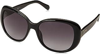 Fossil Cat Eye Women's Sunglasses - Grey Lens, 56