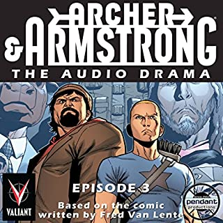 Archer & Armstrong #3 audiobook cover art