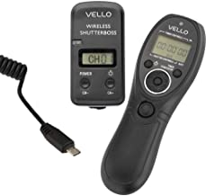Vello Wireless ShutterBoss III Remote Switch with Digital Timer for Select Sony Cameras