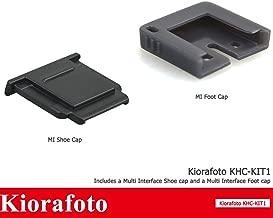 Kiorafoto Camera Hot Shoe Cover Cap & MI Shoe Protector for Sony A7RII A7SII A99II A77II A6500 A6300 A6000 RX10II RX100II as FA-SHC1M and Sony Flash HVL-F60RM HVL-F45RM Microphones ECM-XYST1M ECM-W1M