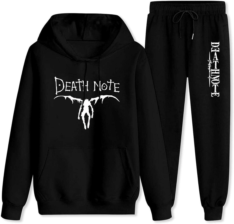 687 Adult DEA-th Note Hoodie Max Phoenix Mall 57% OFF and Sweatshirt Sweatpant Sets Pants
