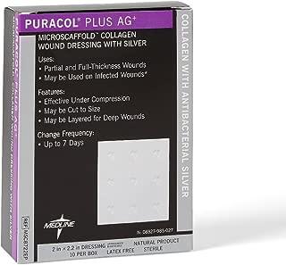 60MSC8722EP - Puracol Plus AG Collagen Dressing 2 x 2
