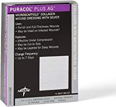 puracol plus ag collagen dressings with silver