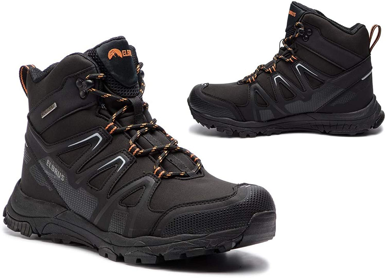 Elbrus Schuhe Winterschuhe Mnnerschuhe Trekkingschuhe   Warm Winter Wasserfest Wasserdicht Herren MERUPA