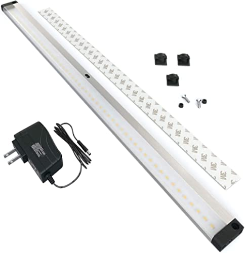 EShine LED Dimmable Under Cabinet Lighting - Extra Long 20 Inch Panel, Hand Wave Activated - Touchless Dimming Contro...
