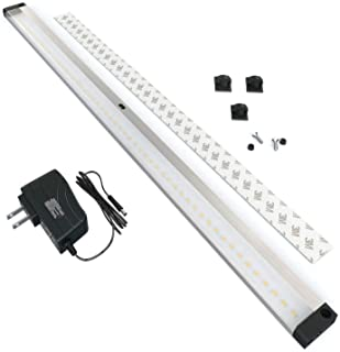 EShine LED Dimmable Under Cabinet Lighting – Extra Long 20 Inch Panel, Hand Wave..