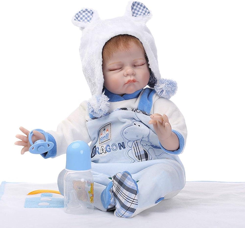 Prosperveil NPK Simulation Frog Boy Reborn Baby Doll Kids Sleeping Silicone Toys Gifts