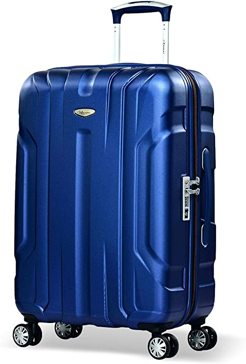 Valigia x-tec 66cm 70l valigia viaggio & leggera superficie anti-graffio 4 ruote doppie lucchetto B01N5V089L