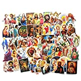 Jesus Christian Stickers Laptop Stickers Pack 68 Pcs Faith Wisdom Words Decals for Hydro Flask Water Bottle Laptops Ipad Cars Luggages