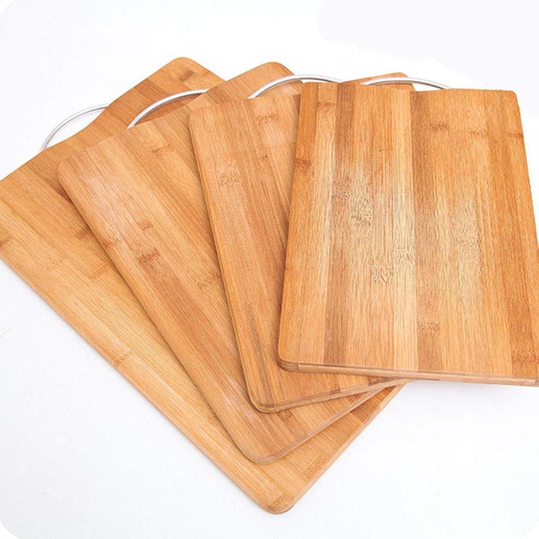 気質蒸インサートまな板セット - キッチンまな板 竹製まな板 長方形 まな板 無垢材 ナイフボード 38*28 195-683