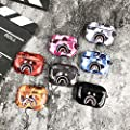 Shark Teeth Camo Softshell Silicone AirPods IMD Case for AirPods Pro Protective TPU Case Cover and Skin Supreme Hypebeast Gift Bape Boy Girl [NO Button Cutout]