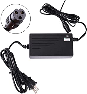 LotFancy 24V 2A Scooter Battery Charger for Razor MX350 Dirt Bike, E300, E200, E100, E125, E150, PR200, E175, E500, CC2420, Pocket Mod, UL Listed, Fast Charge