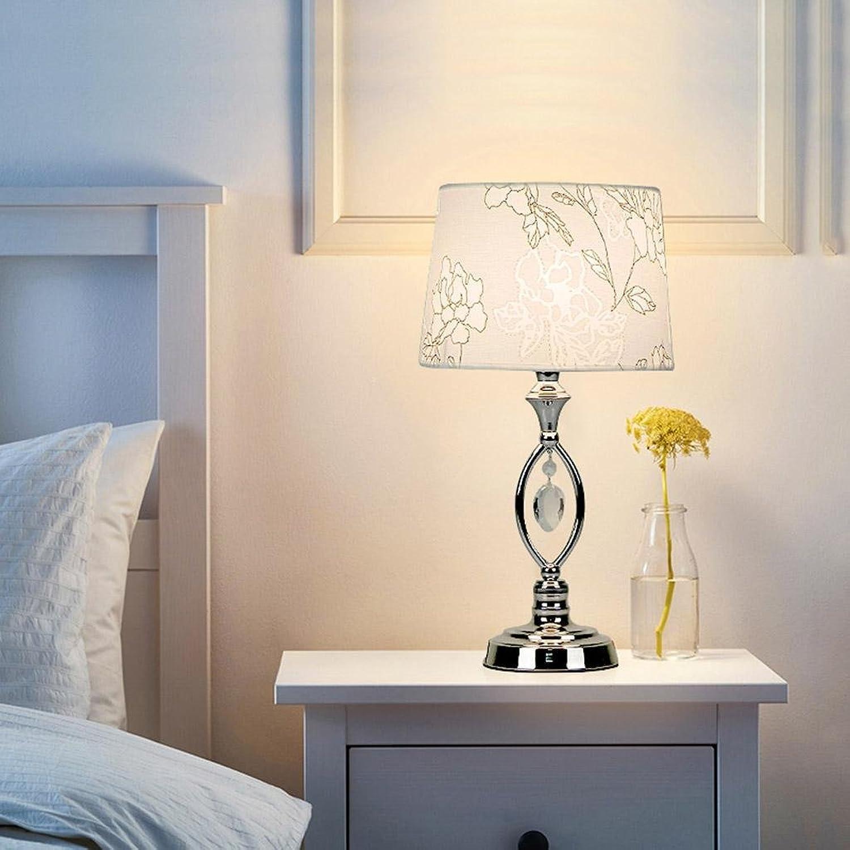 Kitzen Kristalllampe Rote Tischlampe Nachttischlampe Nachtlicht Dämmerungsschalter und Druckschalter Mit LED-Lampe 25  36 cm, button switch Hohe Qualität B07B3T2KY5     | Nutzen Sie Materialien voll aus