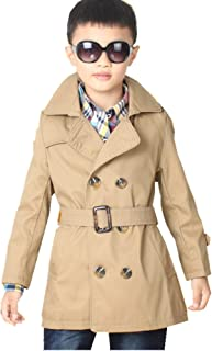 Big Toddler Boys' Classic Peacoat Hooded Toggle Coat
