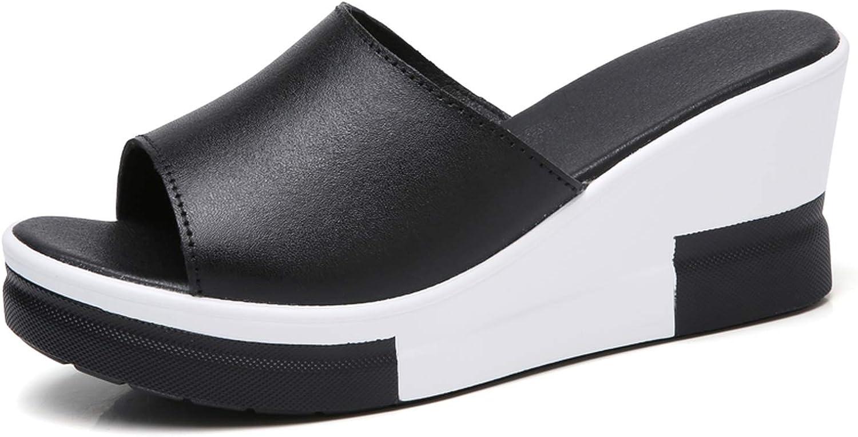 Summer Slippers Women Platform Sandals shoes Women Slides Sandals Beach Platform Slip-on Round