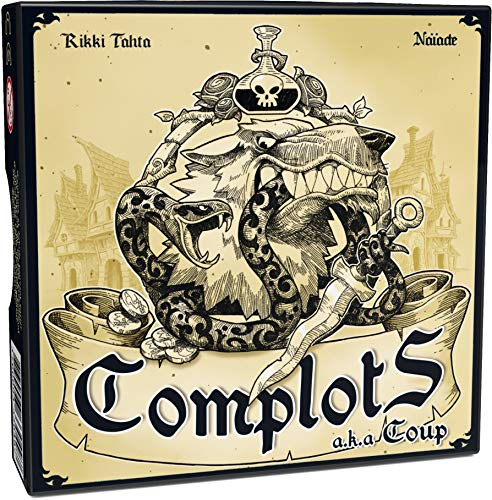 Ferti Games - Jeu d'Ambiance - Complots