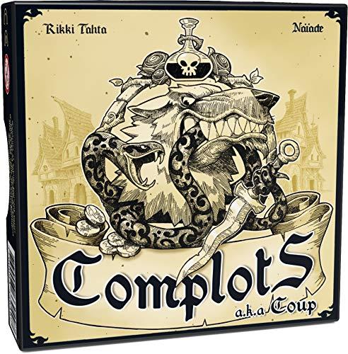 Ferti Games Complots - Juego de Mesa