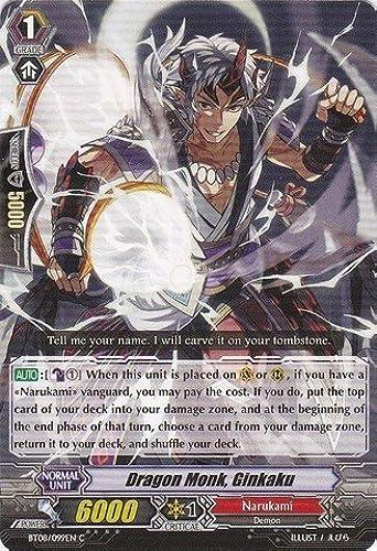 Cardfight   Vanguard TCG - Dragon Monk, Ginkaku (BT08 099EN) - Blau Storm Armada by Cardfight   Vanguard TCG