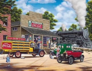 Springbok Puzzles - Coca-Cola All Aboard - 1000 Piece Jigsaw Puzzle - Large 24 Inches by 30 Inches Puzzle - Made in USA - ...