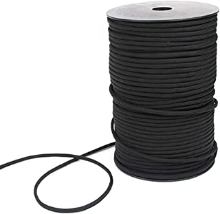 100M Parachute Rope Strong Strength Nylon Paracord For Tactical Crafting Survival General Use Black