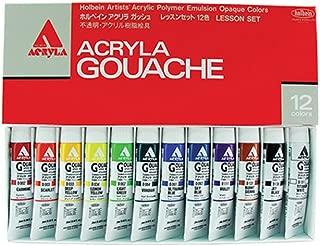 Holbein Acryla Gouache Lesson Set Of 12 20Ml