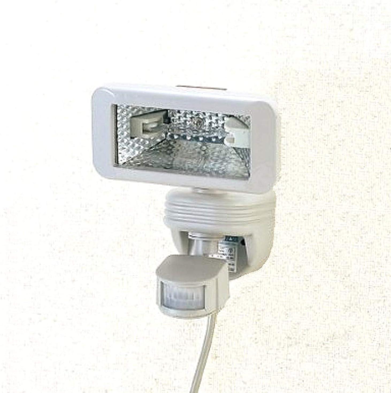 哲学者無秘密のHLG-150CH 防雨タイプ ハロゲンセンサーライトチャイム付(室内?屋外兼用)