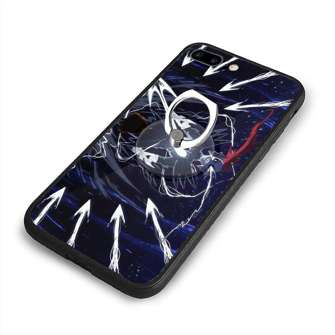 ディレクター白菜企業Undertale真正的英雄ons?iPhone 7/8 Plusケースリングブラケット 携帯カバー 創意デザイン軽量 傷つけ防止 360°回転ブラケット 携帯ケース PC 衝撃防止 全面保護