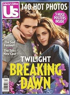 US Weekly Collector's Special - Twilight Breaking Dawn Part 2 - Robert Pattinson, Kristen Stewart, etc