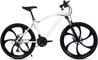DLYDSS Bicicleta De Montaña, 21/24/27/30 Velocidad De La Bici Adulta, 26 Pulgadas Unisex Shift Bicicleta De Carretera ZYYZXC (Color : C1, Size : 21 Speed)