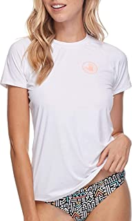 Women's Smoothies In Motion Solid Short Sleeve Rashguard