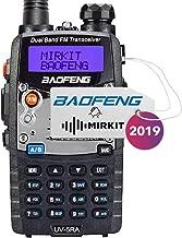 Baofeng Ham Radio UV-5RA 2019 5W 1800 mAh Li-ion Battery Mirkit Edition and Lanyard Mirkit Ham Radio Operator   Walkie Talkies Dual Band Ham Two Way Radios USA Warranty