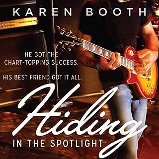 Hiding in the Spotlight audiobook cover art