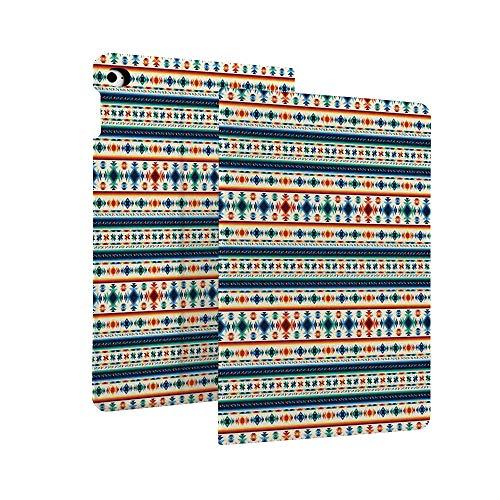 Native American Decor - Funda protectora de piel para iPad de 7ª generación 10,2' 2019, diseño étnico Ikat primitivo azteca, funda giratoria inteligente con función de apagado y encendido automático para iPad de 10,2 pulgadas Retina d multicolor Color_18 Case for iPad 10.2' 2019 (7th Generation)