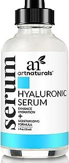 ArtNaturals Hyaluronic Acid Serum (1 Fl Oz / 30ml) - Anti- Aging Facial Serum, Natural Moisturizer w/Vitamin C Serum & Vit...