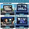 Miroir de Voiture pour bébé, caméra de Surveillance pour bébé HD 1080P pour Le siège arrière de la Voiture, Vue complète du bébé avec écran de 4,3 Pouces fournissant des Images Vives, Tomoia-B1 #2