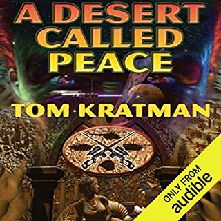 A Desert Called Peace audiobook cover art