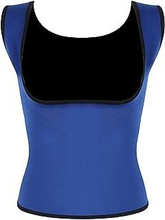 Plus Size Neoprene Sweat Body Shapers Vest Waist Trainer Slimming Vest Shapewear Loss Waist
