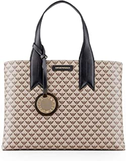 Luxury Fashion | Emporio Armani Womens Y3D153YFG5A83941 Beige Handbag | Fall Winter 19
