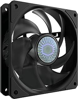 Cooler Master SickleFlow 120 - Ventilateur de Boîtier PC & Refroidissement 120 mm, Pales Améliorées Grandes et Courbées, 6...