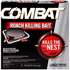 Get rid of cockroach problems at the source with this specially Designed Large roach bait product containing Hydramethylnon Easy to use, no mess baits do Not require activation Simply place them wherever you see or have seen roaches and relax while t...