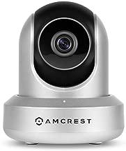 Amcrest HDSeries 720P WiFi Wireless IP Security Surveillance Camera System IPM-721S Silver (Renewed)